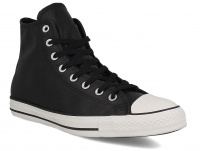 Мужские кеды Converse Chuck Taylor All Star Tumble Leather 157468C   (чёрный) оптом
