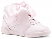 Женские кроссовки Reebok Freestyle Hi Steals Hearts Hi Satin Bow CM8905 оптом