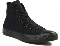 Кеды Converse Chuck Taylor All Star Core Hi Black Monochrome M3310 унисекс   (чёрный) оптом
