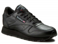 Кроссовки Reebok Classic Leather Int-black 3912 оптом