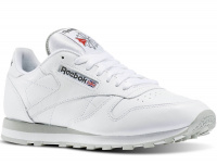 Кроссовки Reebok Classic Leather 2214 White/Grey оптом