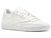 Кроссовки Reebok Club C 85 Patent \ White bs9776 оптом