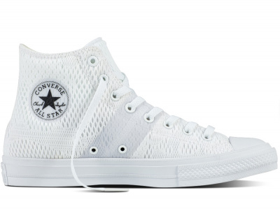 Кеды Converse Chuck Tailor All Star II Engineered Mesh Hi 155748C унисекс   (белый)