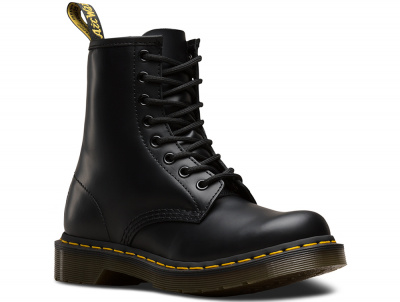 Ботинки Dr. Martens Black Smooth 1460-DM11821006