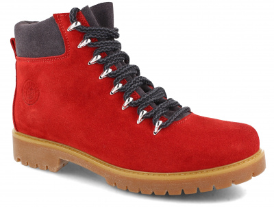 Ботинки Forester Red Suede 3032-47