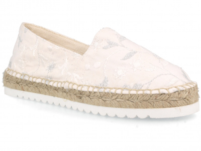 Женские эспадрильи Las Espadrillas Floral Pattern FE0800-13 Made in Spain оптом