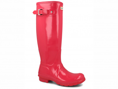 Женские сапоги Hunter Women's Original Tall Gloss WFT1000RGL  оптом
