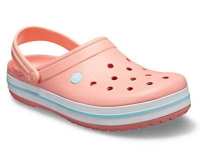 Женские сандалии Crocs Crocband Melon/Ice Blue 11016-7H5