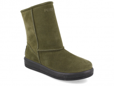 Женские угги Forester Olive Suede 21-10-22 оптом