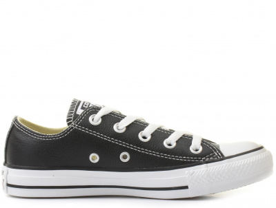 Кеды Converse Chuck Taylor All Star Leather Low Top Black 132174C