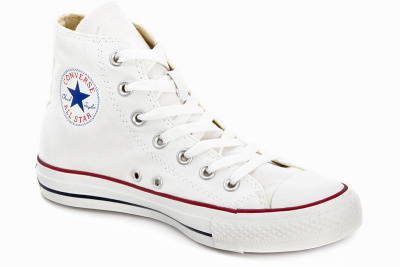 Кеды Converse Chuck Taylor All Star Hi Optical White M7650 унисекс   (белый)
