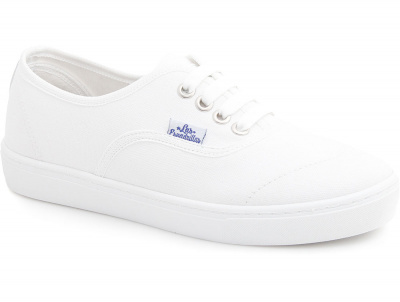 Кеды Las Espadrillas V8214-7652TL Optical White (белый) оптом