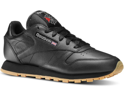Кроссовки Reebok Classic Leather - Black 49804