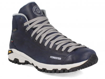 Мужские ботинки Forester Navy Vibram 247951-89 Made in Italy