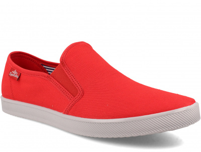Мужские слипоны Las Espadrillas Eco Soft 6088-4737 Lacoste Red