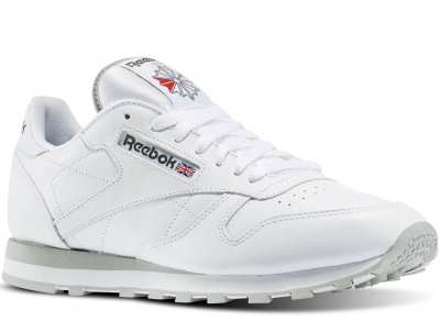 Кроссовки Reebok Classic Leather 2214 White/Grey