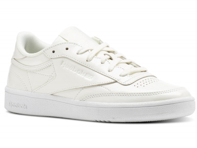Кроссовки Reebok Club C 85 Patent \ White bs9776