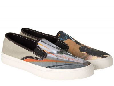 Слипони Sperry Cloud Slip On McQuarrie SP-17648 Star Wars унисекс   (бежевый)