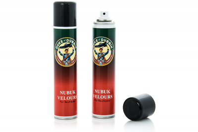 Спрей для обуви Duke of Dubbin Nubuk Velours 4026 (чёрный)