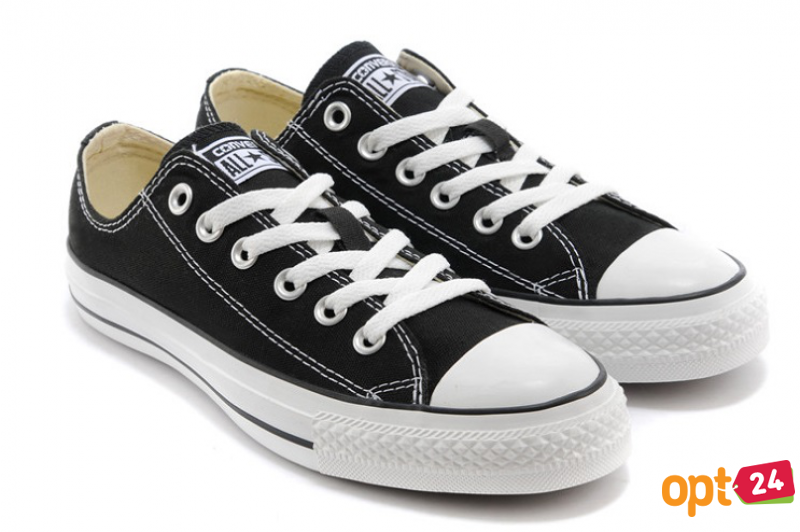 Кеды Converse Chuck Taylor All Star Ox Low M9166C унисекс   (чёрный)