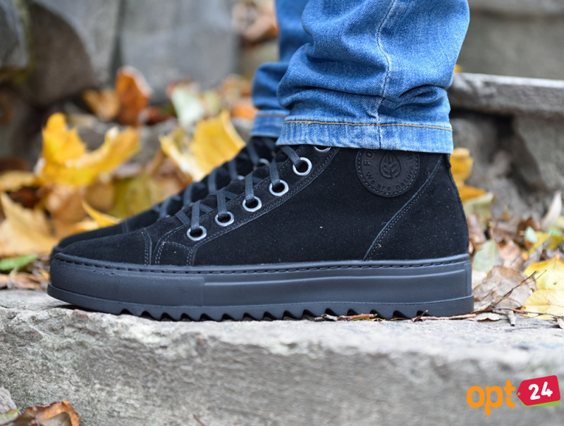 Мужские Forester Black Suede 70127-127