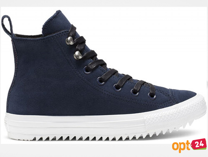 Купить оптом Кеды Converse Chuck Taylor All Star Hiker High Top 565237C Navy Nubuk - Изображение 2