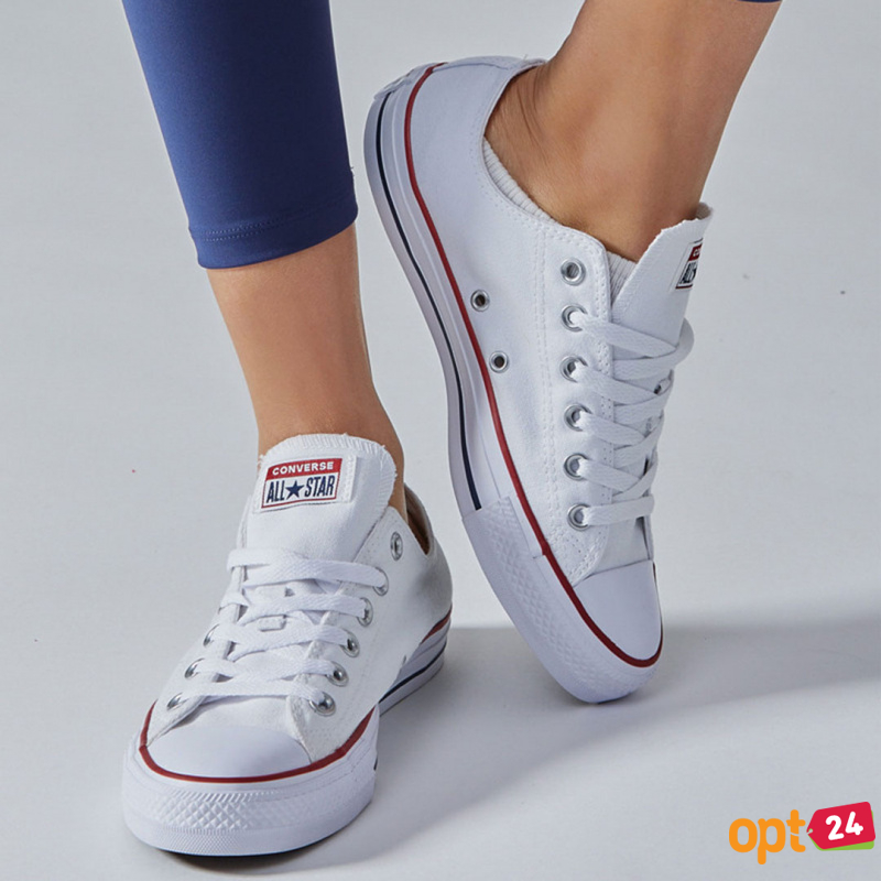 Купить оптом Кеды Converse Chuck Taylor All Star Classic Low Optical White M7652C унисекс   (белый) - Изображение 10