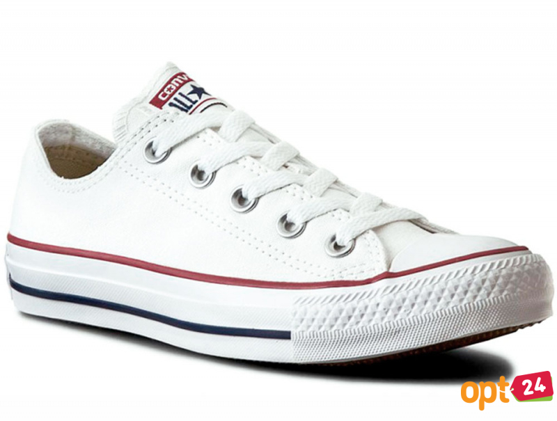 Кеды Converse Chuck Taylor All Star Classic Low Optical White M7652C унисекс   (белый) оптом