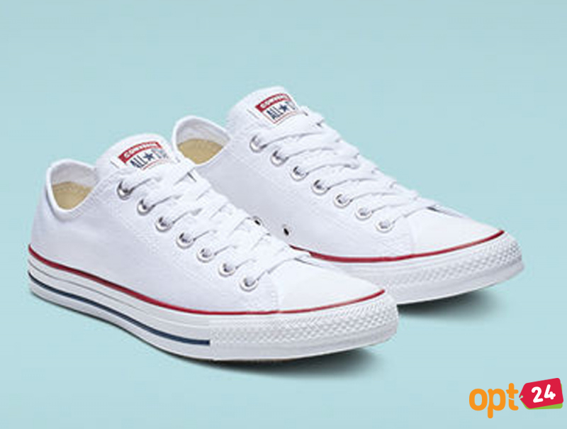 Купить оптом Кеды Converse Chuck Taylor All Star Classic Low Optical White M7652C унисекс   (белый) - Изображение 7