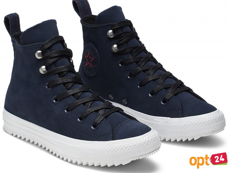 Кеды Converse Chuck Taylor All Star Hiker High Top 565237C Navy Nubuk оптом