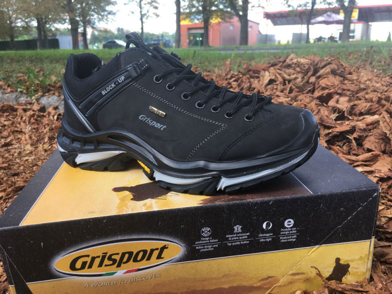 Мужские кроссовки Grisport Spo Tex Vibram 11927N90tn Made in Italy